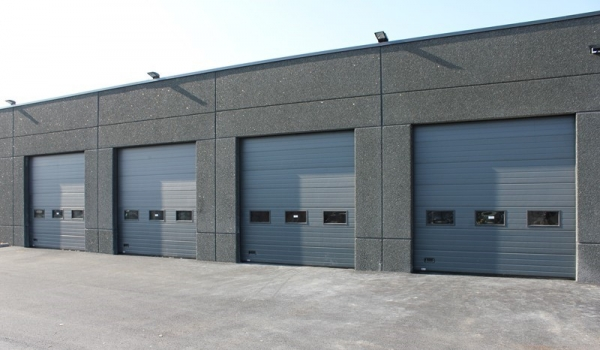 Smg chassis porte de garage for Porte garage hormann